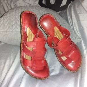 Born Shoes - ❤️5/$25 BORN WEDGE SANDALS